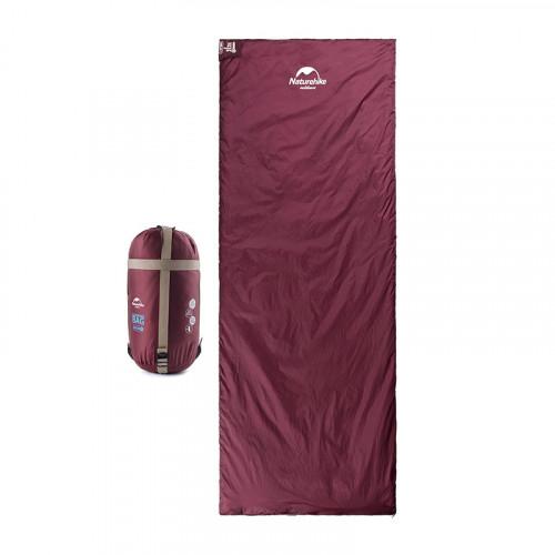 Naturehike LW180 四季通用輕巧迷你型睡袋 加大版 (NH16S004-L) - 紅色