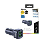 XPower CC2A 36W USB快充車用充電器 | 香港行貨一年保養