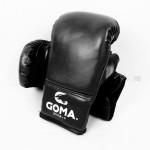 GOMA TGU3/K 拳套 | 成人拳擊泰拳手套 - 黑色