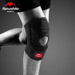 NatureHike 薄款透氣運動護膝 (NH20HJ002) | 健身跑步半月板膝蓋關節保護套 單只裝 - XL
