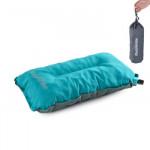 NatureHike 戶外自動充氣枕頭 (NH17A001-L) | 辦公室午休睡枕 旅遊露營舒適靠枕 - 藍色