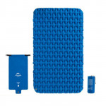 NatureHike FC11 氣袋式超輕雙人充氣睡墊 (NH19Z055-P) | 戶外帳篷睡墊露營加厚防潮地墊 - 藍色
