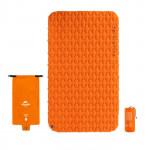 NatureHike FC11 氣袋式超輕雙人充氣睡墊 (NH19Z055-P) | 戶外帳篷睡墊露營加厚防潮地墊 - 橙色