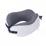 NatureHike 記憶棉護脖頸枕 (NH20ZT001) | 便攜午休飛機U型枕睡覺神器 - 灰色