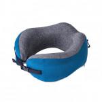 NatureHike 記憶棉護脖頸枕 (NH20ZT001) | 便攜午休飛機U型枕睡覺神器 - 藍色