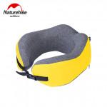 NatureHike 記憶棉護脖頸枕 (NH20ZT001) | 便攜午休飛機U型枕睡覺神器 - 黃色