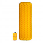 NatureHike 立體側牆單人加厚蛋巢充氣墊 (NH20FCD02) | 便攜露營睡墊 - 黃色