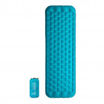 NatureHike 立體側牆單人加厚蛋巢充氣墊 (NH20FCD02) | 便攜露營睡墊 - 藍色