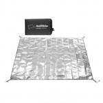 NatureHike PE鋁箔防潮墊 (NH20FCD03) | 摺疊地墊野餐墊 180x200cm - L