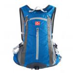NatureHike 旅行戶外騎行背包 (NH15C001-B) | 男女通用運動雙肩包帶頭盔網罩 - 天藍色