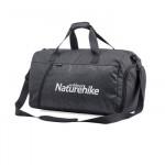 NatureHike 乾濕分離健身包 (NH19SN002) | 運動訓練包 游泳旅行大容量單肩手提包 - 黑色L