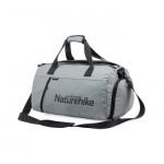 NatureHike 乾濕分離健身包 (NH19SN002) | 運動訓練包 游泳旅行大容量單肩手提包 - 灰色M