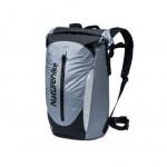 NatureHike 雙肩背負防水包 (NH20FSB01) | 戶外沙灘漂流溯溪防水袋收納背包 - 灰色