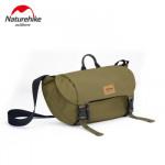 NatureHike B02 防潑水休閒挎包 (NH20BB004) | 戶外旅行騎行徒步登山單肩包 - 軍綠色