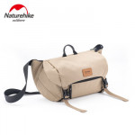 NatureHike B02 防潑水休閒挎包 (NH20BB004) | 戶外旅行騎行徒步登山單肩包 - 卡其色