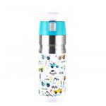 NatureHike 500ml 不銹鋼保溫杯 (NH19SJ009) | 便攜式水壺 旅行運動水壺 - 皎月白