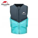 NatureHike 安全浮力背心救生衣 (NH20SP001) | 浮潛游泳裝備 便攜漂流馬甲浮力衣 - 灰色XL
