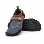 NatureHike 涉水沙灘鞋 (NH20FS022) | 水上活動防滑防割潛水鞋 浮潛鞋 - 灰色XL碼 43-44