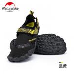 NatureHike 涉水沙灘鞋 (NH20FS022)   水上活動防滑防割潛水鞋 浮潛鞋 - 黑色L碼 41-42