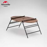 NatureHike 戶外可摺疊橢圓桌 (NH20JJ018) | 便攜式露營野餐折疊桌