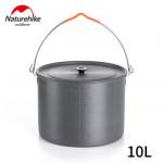 NatureHike 6-8人野營吊鍋 (NH19CJ003) | 便攜10L鋁合金吊鍋 - 10L