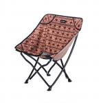 NatureHike YL04 戶外摺疊導演椅 (NH18X004-Y) | 便攜簡易沙灘露營寫生月亮椅 釣魚凳 - 啡色