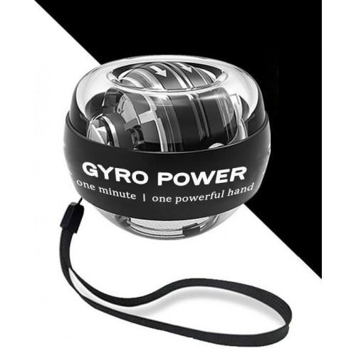 GYRO POWER 鉑金黑帶彩燈腕力球  握力器 臂力器 握力球 臂力訓練 輕型健身器材
