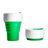 美國Stojo 可摺疊的環保咖啡杯 355ml