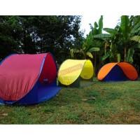 3-4人速開沙灘帳篷 | 可摺疊戶外帳幕