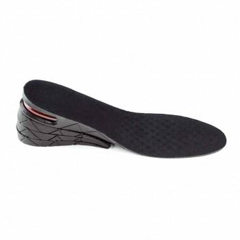PU防震隱形內增高鞋墊|  4層可調節增高9CM