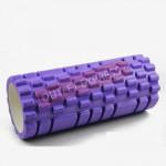 33cm款瑜珈按摩狼牙棒 | 普拉提柱 Yoga Foam Roller - 紫色