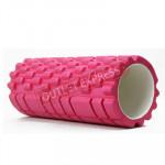 33cm款瑜珈按摩狼牙棒 | 普拉提柱 Yoga Foam Roller - 粉紅色