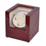 Simplewishes 2+0錶位自動上鍊自轉錶盒 - 木紋白