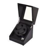 Simplewishes 2+0錶位自動上鍊自轉錶盒 - 外黑內黑