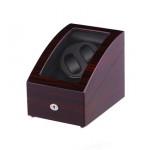 Simplewishes 2+3錶位自動上鍊自轉錶盒 - 木紋黑