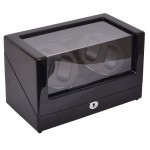Simplewishes 4+0自動上鍊自轉錶盒 - 外黑內黑