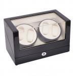 Simplewishes 4+0自動上鍊自轉錶盒 - 外黑內白