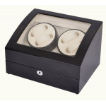 Simplewishes 4+6自動上鍊自轉錶盒 - 外黑內白