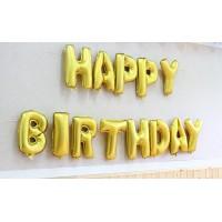16-inch letters Happy Birthday Happy Birthday Balloon