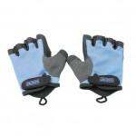 BOER 半指健身手套| 防磨傷健身適用 - 藍色中碼