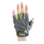 BOER 半指健身手套| 防磨傷健身適用 - 綠色細碼