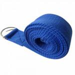 純棉1.8米伸展帶瑜伽繩 | 伸展拉力帶 - 藍色