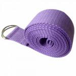 純棉1.8米伸展帶瑜伽繩 | 伸展拉力帶 - 紫色