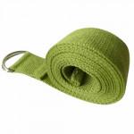 純棉1.8米伸展帶瑜伽繩 | 伸展拉力帶 - 綠色
