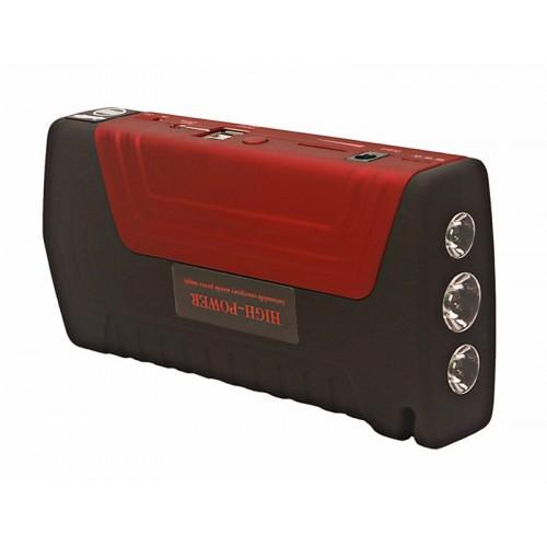 HighPower 16000mAH 多功能汽車急救應急啟動移動電源 - 紅色   手提過江龍救車寶