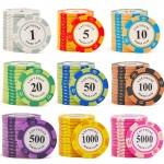 14克德州撲克籌碼 (25個)-5000