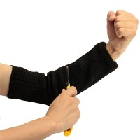 Cut resistant steel outdoor wrist armband