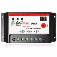 10A solar controller lithium | dual digital display