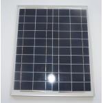 25W 多晶太陽能電池板 | 鋁合金邊框 太陽能 蓄電池充電