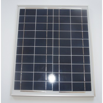 25W polycrystalline solar cell panel | aluminum frame of the solar battery charging